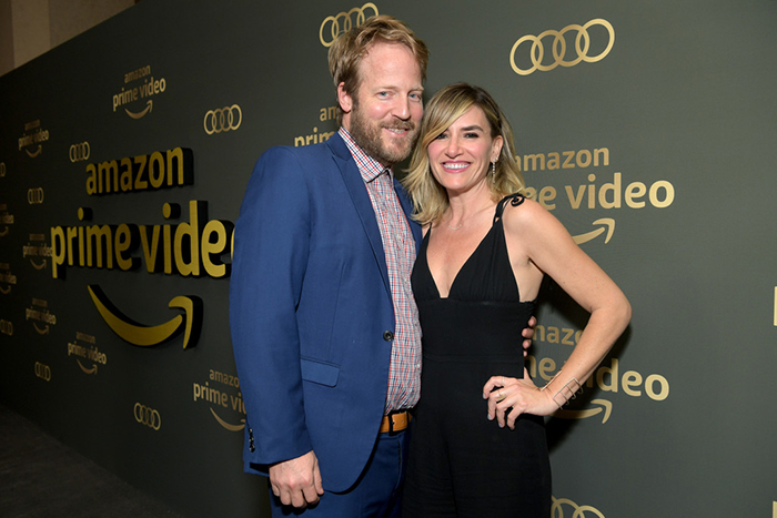 Alli Webb with her husband