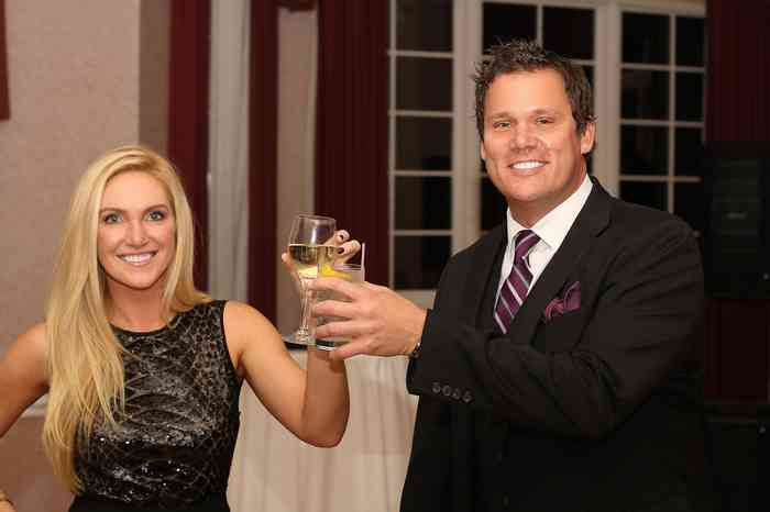 Bob Guiney with his wife
