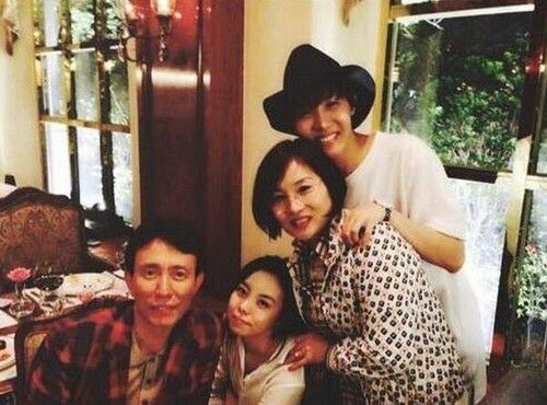 J-Hope with family
