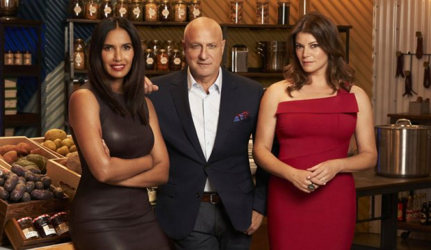 Tom Colicchio with top chef judge