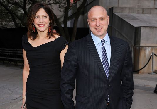 Tom Colicchio with his wife