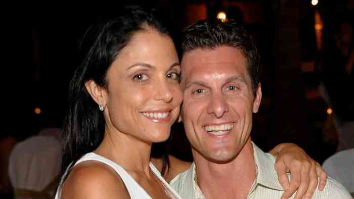 Bethenny Frankel with her husbands