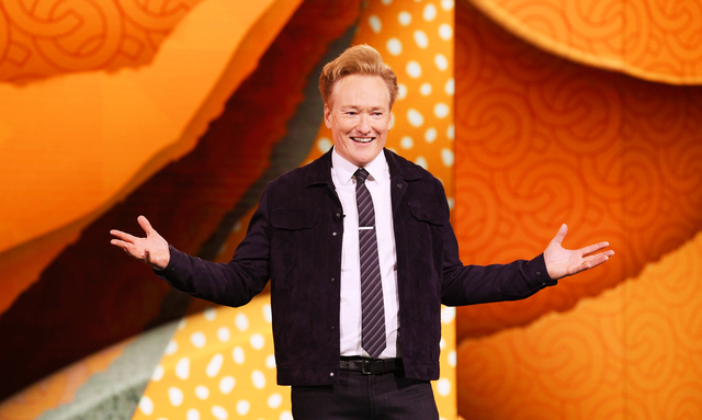 Conan with on TV show
