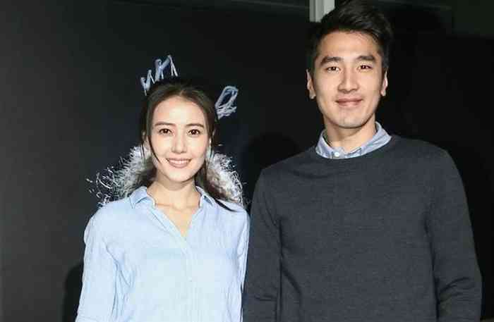 Gao Yuanyuan with her husband