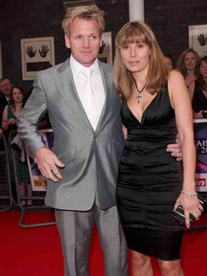 Gordon Ramsay with his wife,