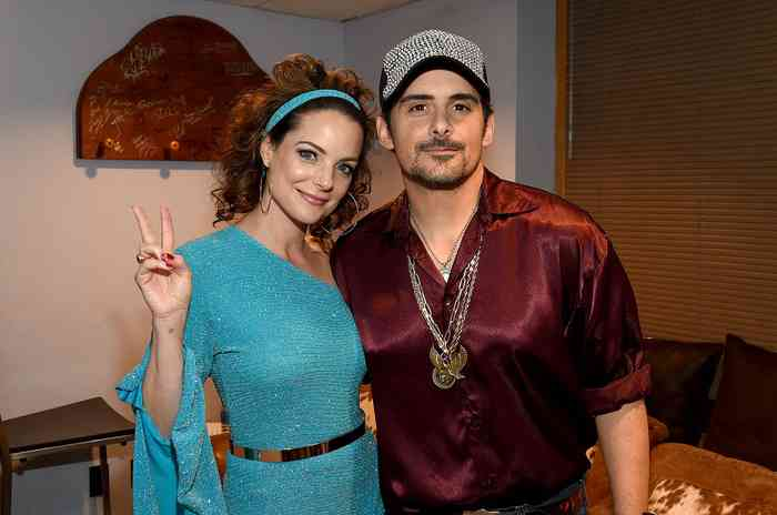 Kimberly Williams Paisley with her husband