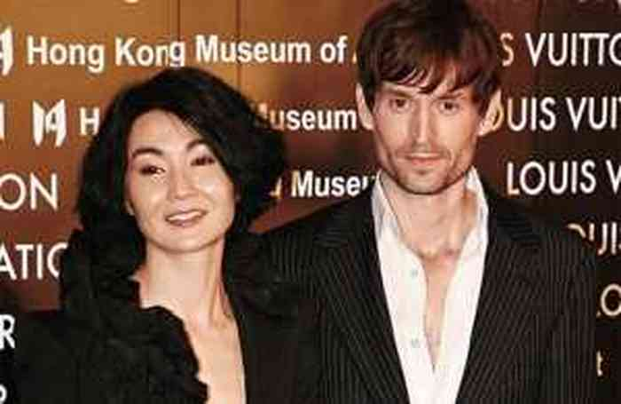 Maggie Cheung, Maggie Cheung with her husband