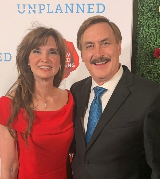 Dallas Yocum with her husband