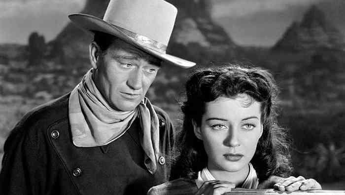 John Wayne wife