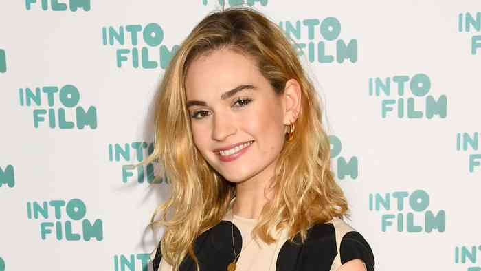 Lily James age