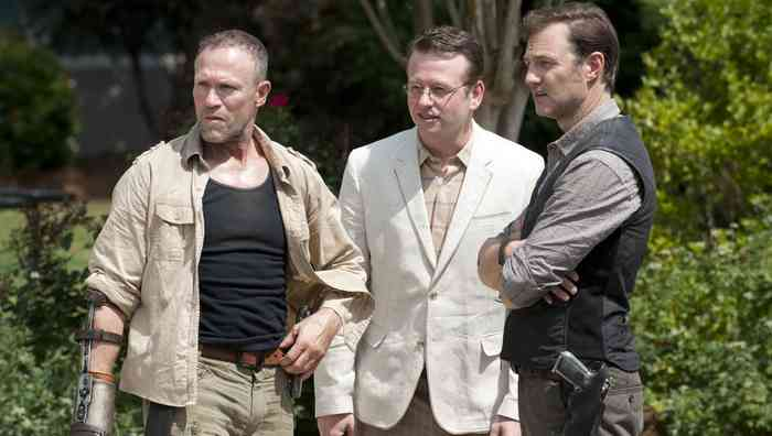 Dallas Roberts with friends