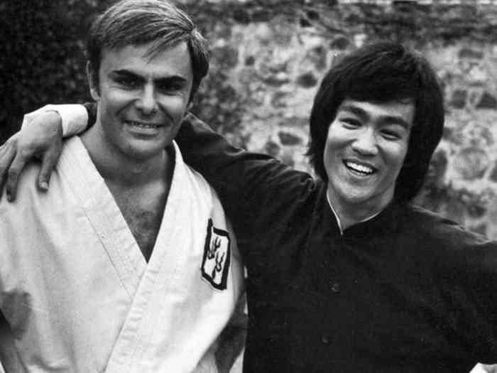 John Saxon friend