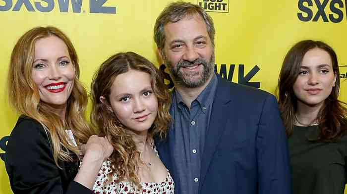 Judd Apatow family