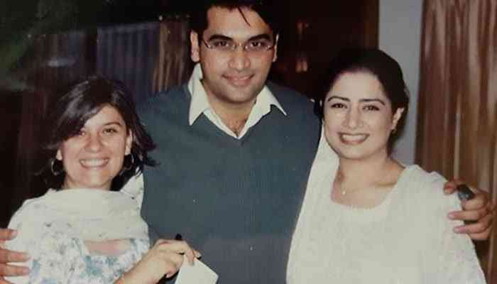 Marina Khan FAMILY