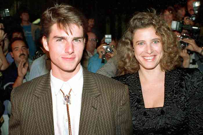 Mimi Rogers with Tom Cruise